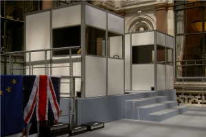 M&R booths for simultaneous interpreting in London UK